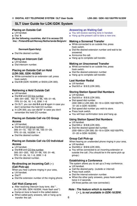 ○ DIGITAL KEY TELEPHONE / USER'S GUIDE KD, KD/E, LKD Series 11