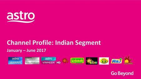 Channel Profile – Malay Segment Jan – Jun ppt download