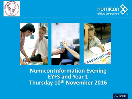 Numicon Information Evening