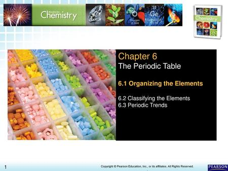 The periodic table chapter 6 httpsyoutubewatchv chapter 6 the periodic table 61 organizing the elements urtaz Gallery