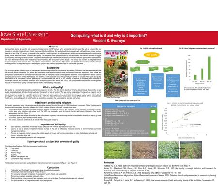 Soil and Ecosystem Dynamics in Soil Survey - ppt download
