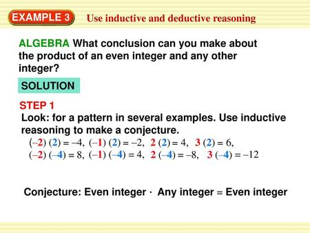 2 3 Apply Deductive Reasoning Ppt Download