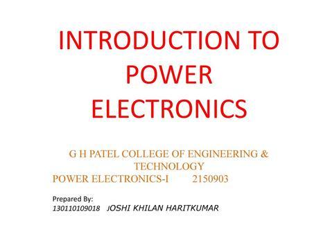 power electronics by bakshi pdf free download