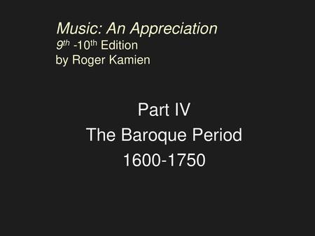 music an appreciation 9th brief edition pdf download