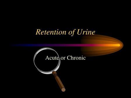 A prostatitisben van egy íj