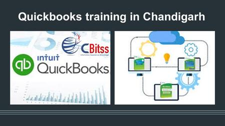 Quickbooks training in Chandigarh. Introduction to Quickbooks.