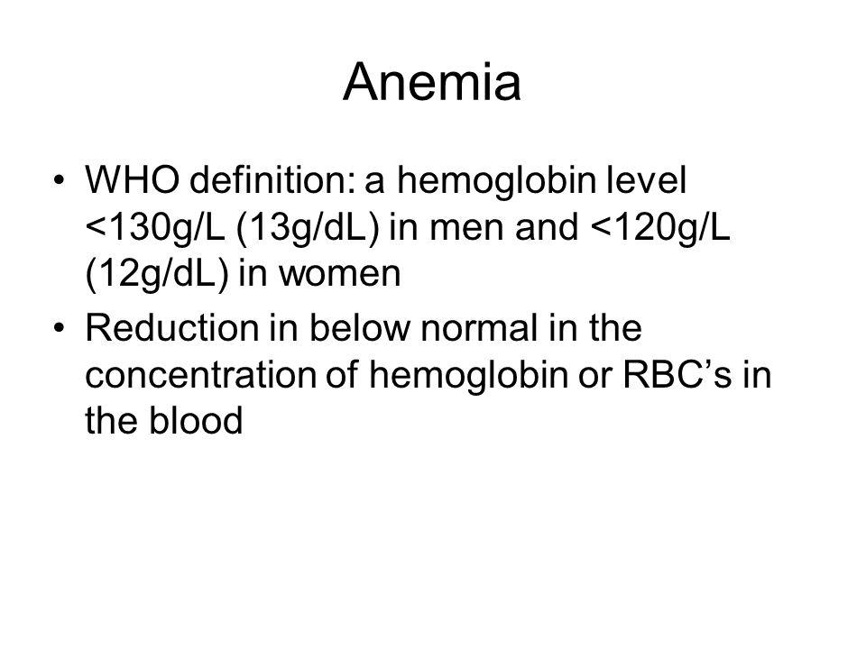 Anemia who definition. Detoxic Farmacia Tei bug mafia cui ii pasa