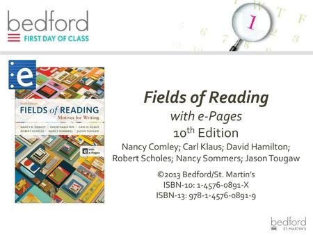 E book options for everythings an argument 6 th edition andrea a fields of reading with e pages 10th edition fandeluxe