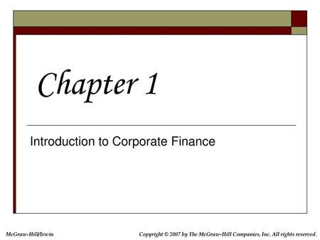 Introduction to Financial Management - ppt download