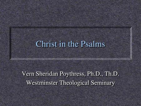 """Book of Psalms """"Israel's Hymnbook""""  - ppt video online download"""