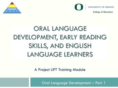 Improving Education for English Learners: Research – Based