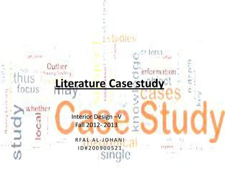Life Case Study Interior Design V Office Design Lexis car