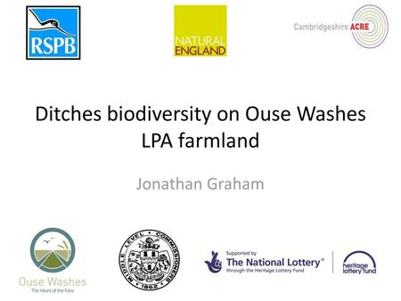 Introduction to fenland aquatic plants - ppt download