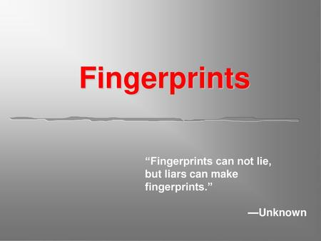 LATENT FINGERPRINTS  - ppt video online download