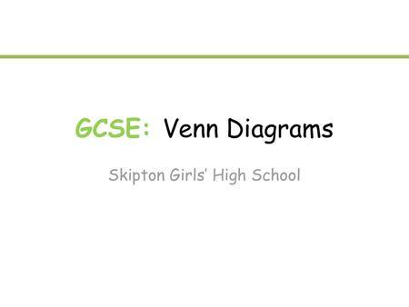 Part 1 Module 3 Survey Problems And Venn Diagrams Example A Survey