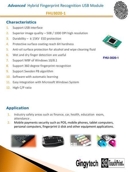 Addocart - SecuGen Hamster Plus Versatile Fingerprint Reader