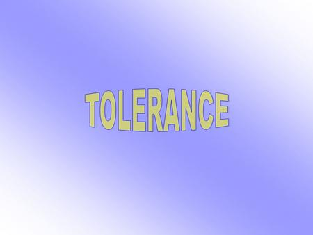 What is tolerance for you? Religion in Bulgaria and tolerance.