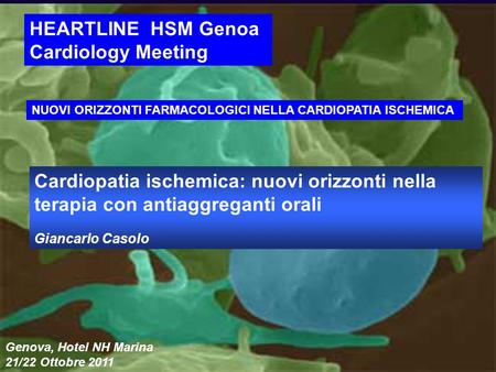 HEARTLINE HSM Genoa Cardiology Meeting