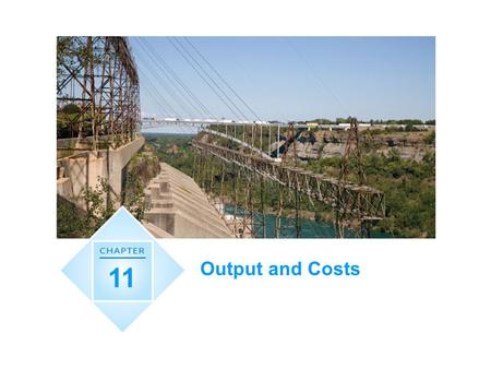 Output and Costs 11.