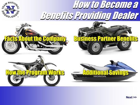 How to Become a Benefits Providing Dealer How to Become a Benefits Providing Dealer.