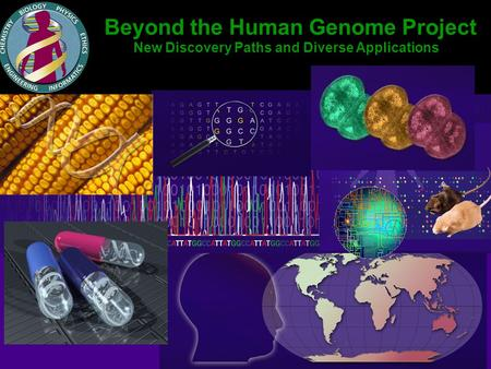 Beyond the Human Genome Project New Discovery Paths and Diverse Applications.