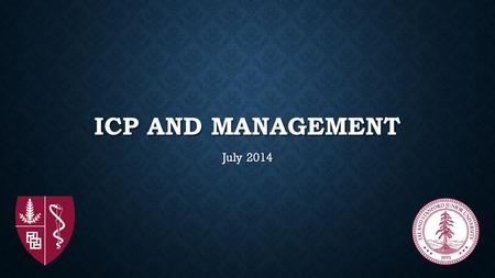 ICP and management July 2014.