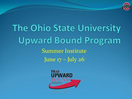 Summer Institute June 17 – July 26. Staff Introductions—TC's Rabekah D. Stewart, Program Manager Marchem Pfeiffer, Academic Counselor Hope Hill, Lead.