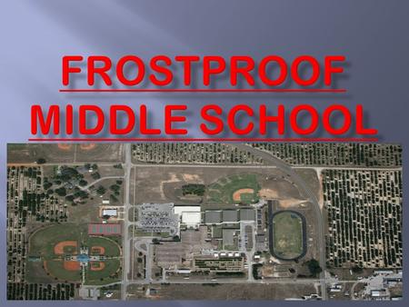 Frostproof Middle School