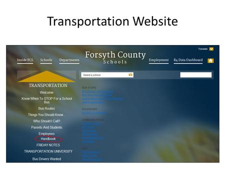 "Transportation Website. Documentation on Pre Trip Form Documentation of Pre-trip Form Check mark versus ""X"" – Drivable = Needs Repaired = ""X"" – If repaired."