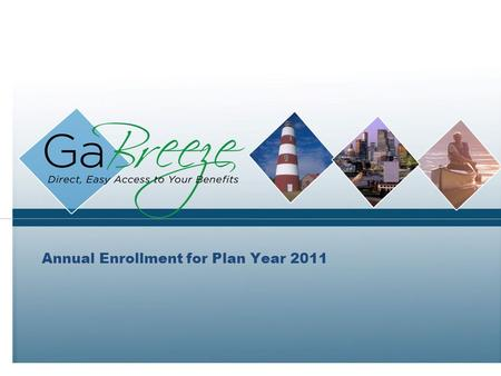 Annual Enrollment for Plan Year 2011. February 2010 2 APRIL 2010 Topics to Discuss What's New for Plan Year 2011? Annual Enrollment Communications Information.