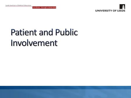 """The GMC aims to encourage a culture where the patient and public perspective is sought and recognised across the spectrum of medical education"" Paragraph."