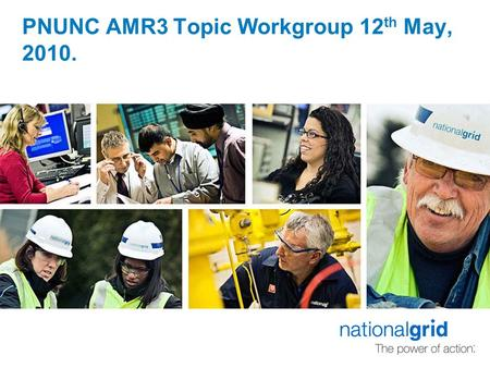 PNUNC AMR3 Topic Workgroup 12 th May, 2010.. Transporter response to actions.  AMR004: Transporters (CW) to provide supporting justification as to why,
