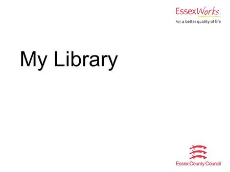 My Library. 2 The need to involve young people in the services that affect them Large county – 73 libraries, 11 mobiles Reaching young people Focus groups.
