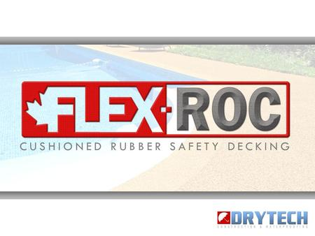 CUSHIONED RUBBER SAFETY DECKING. FlexRoc rubberized surfaces are thick, cushioned, safe, non-toxic and incredibly durable rubber safety-decking systems.