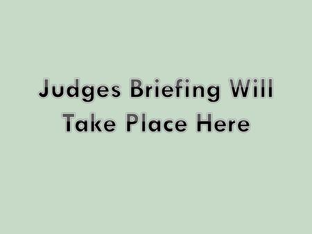 We couldn't do it without you! This Brief Presentation Will Cover Five Talking Points That Will Train You To Be Great Judges Style of Debate Role Of.