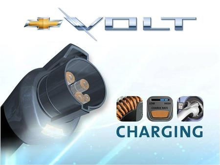 Charging at 120 and 240 Volts 120-Volt Portable Vehicle Charge Cord 240-Volt Home Charge Unit.