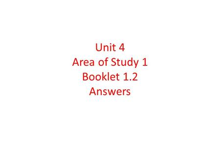 Unit 4 Area of Study 1 Booklet 1.2 Answers. What is the Victorian Civil and Administrative Tribunal (VCAT) The Victorian Civil and Administrative Tribunal.