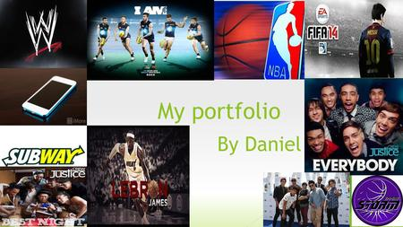My portfolio By Daniel My voice I am happy with my score because it is good.