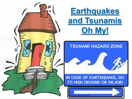 Earthquakes and Tsunamis Oh My!. Plate Tectonics What do you know about plate tectonics? Plates that are moving under the earth's surface.