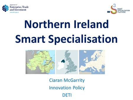 Northern Ireland Smart Specialisation