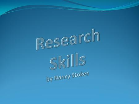 What today's session will cover: Research Strategy: 5 stages Finding information on the library website Searching the library catalogue Searching an online.