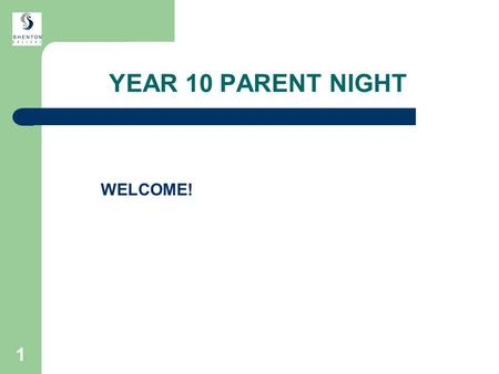 1 YEAR 10 PARENT NIGHT WELCOME!. 2 INTRODUCTION Katie Powers Year 10 Co-ordinator.