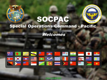 Special Operations Command - Pacific