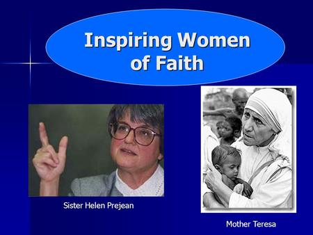Inspiring Women of Faith