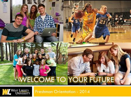 Freshman Orientation - 2014. SCHEDULE OF EVENTS  9:30 a.m. Parent & Student Sessions  11:30 a.m. Financial Aid Review  12:00 noonLunch  1:00 p.m.Math.
