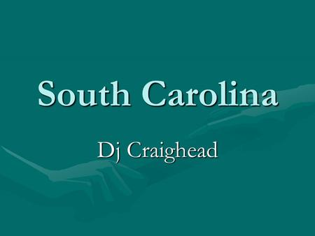 South Carolina Dj Craighead. The states that border my state. North CarolinaNorth Carolina GeorgiaGeorgia.