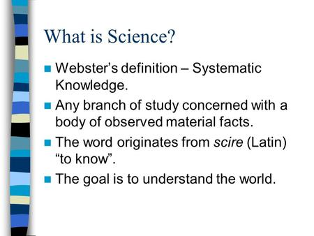 What is Geography? The student will be able to: - ppt ...