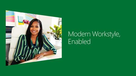 2  Industry trends and challenges  Windows Server 2012: Modern workstyle, enabled  Access from virtually anywhere, any device  Full Windows experience.