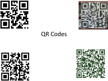 QR Codes. WHAT IS A QR CODE Definition QR code (abbreviated from Quick Response Code) is the trademark for a type of matrix barcode (or two- dimensional.