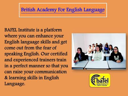 British Academy For English Language